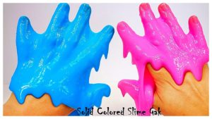 Pink and Blue Slime