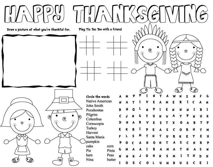 Thanksgiving Kids Activities 282074127311