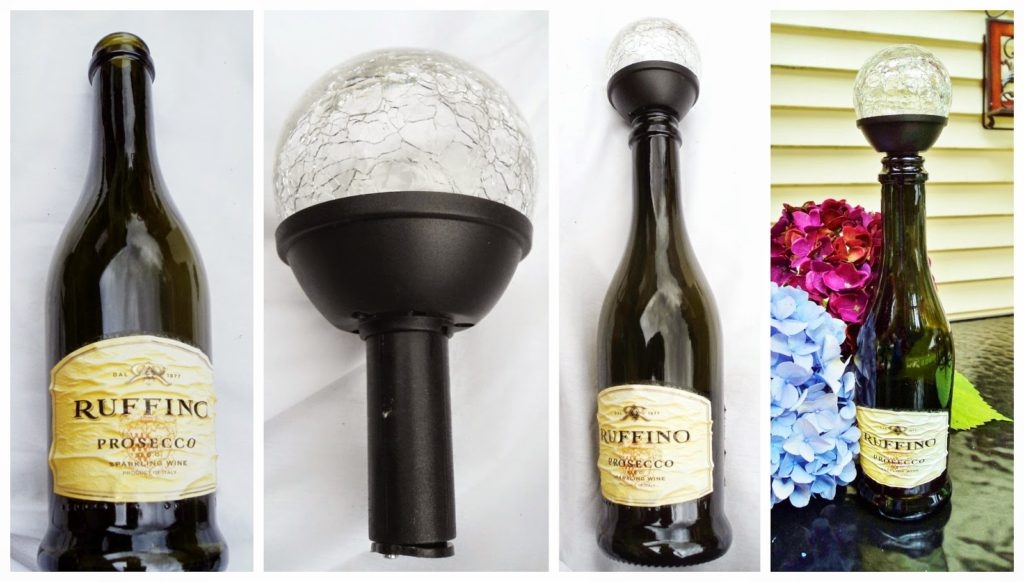 Wine Bottle stopper solar light redoit