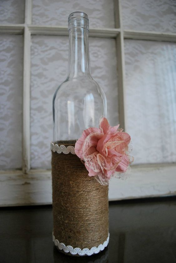 rustic wine bottle1