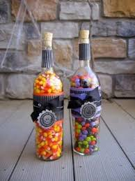 wine bottle candy holder 2